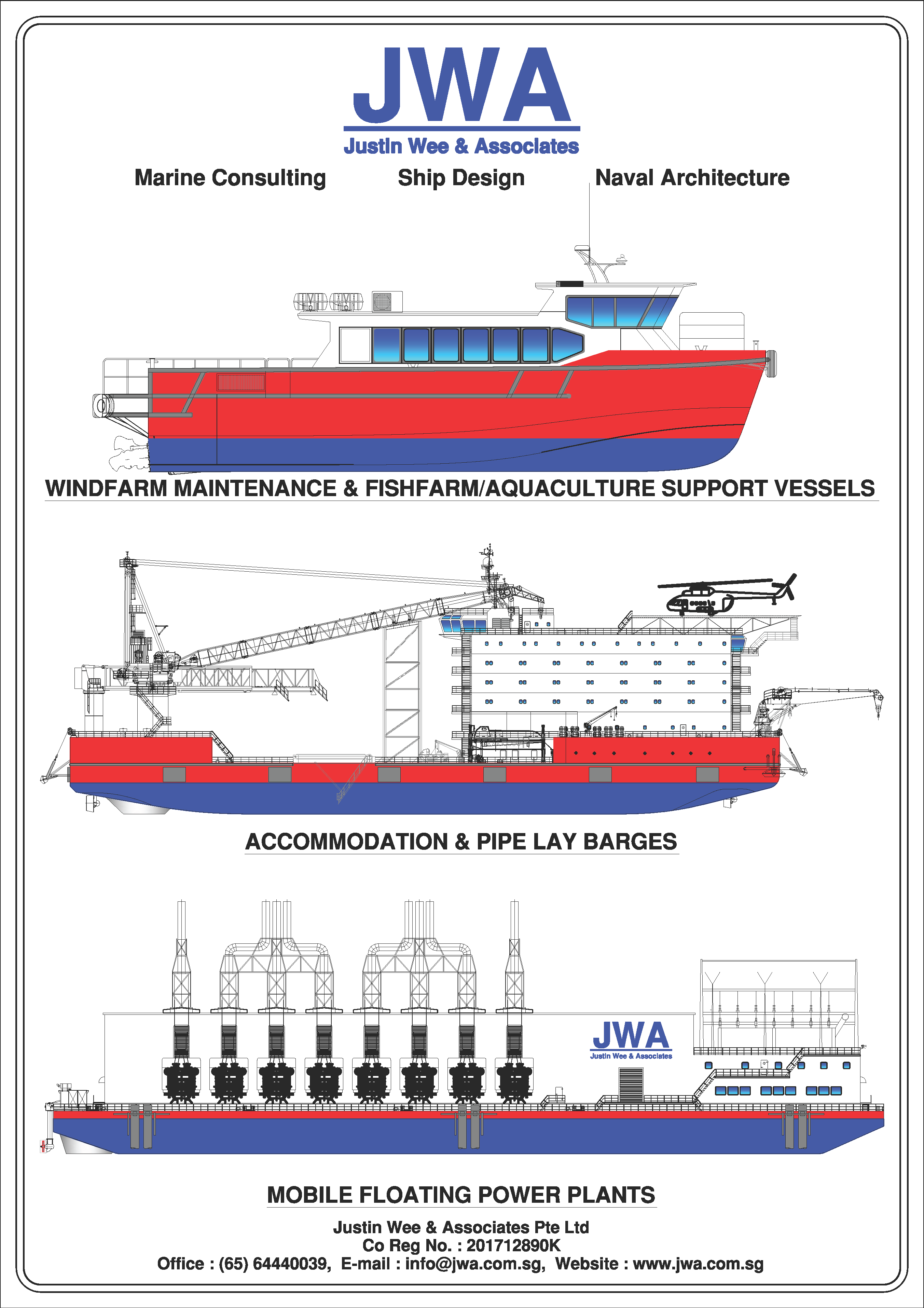 Justin Wee & Associates Pte Ltd – Marine Consulting , Ship